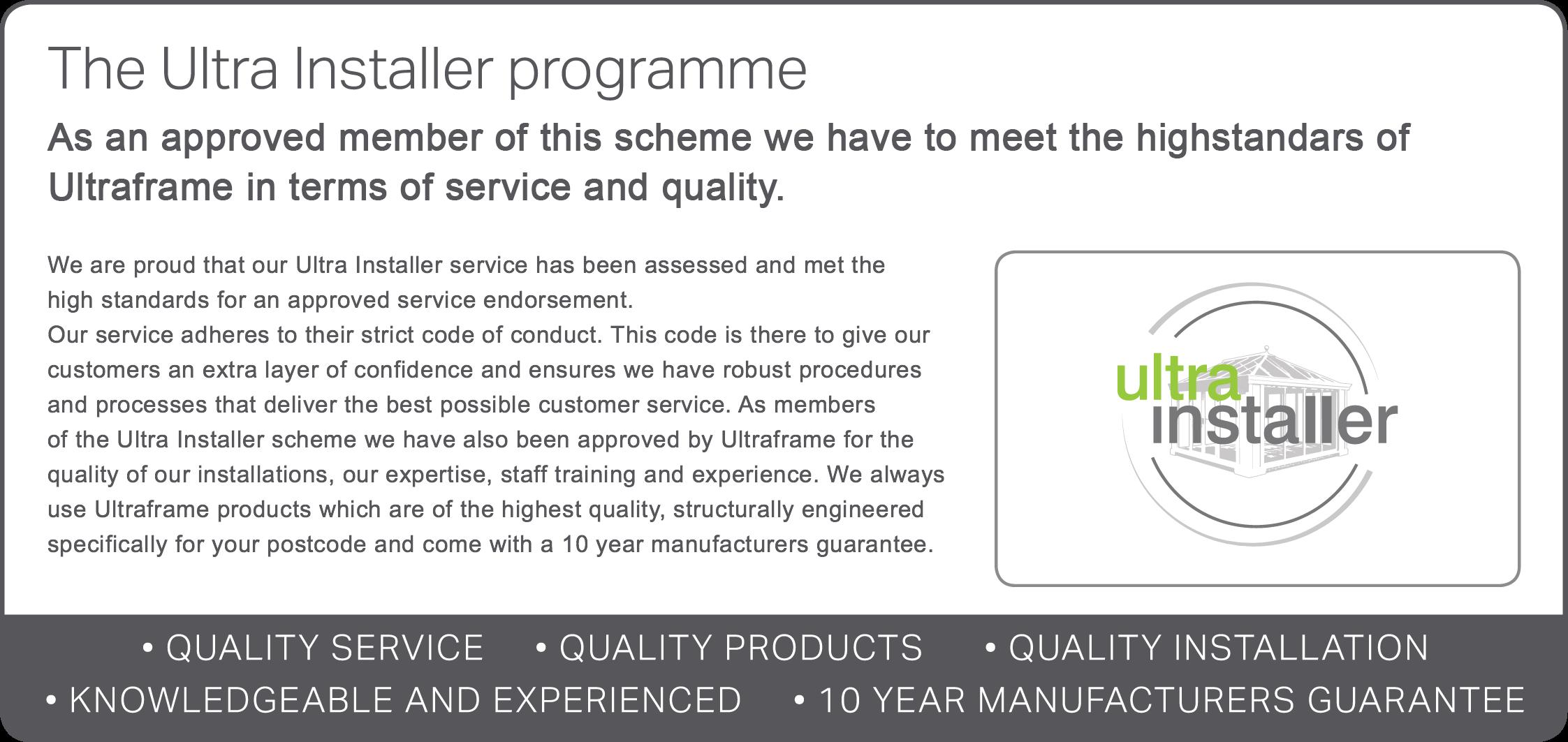 ultrainstallerprogram